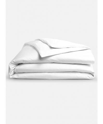 Lux 500 Thread Count Duvet Set - Solid White