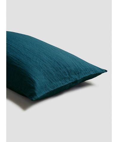 Linen Pillowcases (Pair) - Deep Teal