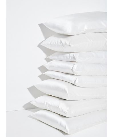 Mulberry Silk Pillowcase - White