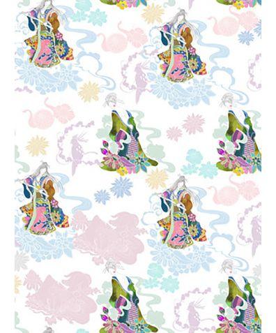 Yamato Nadeshiko' Mica Non Woven Wallpaper