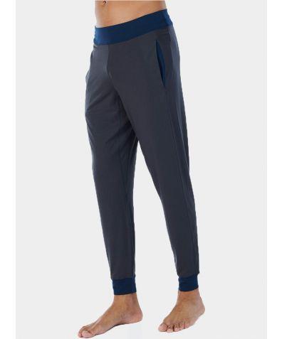 Mens Nattwell® Sleep Tech Cuff Trousers - Dark Grey