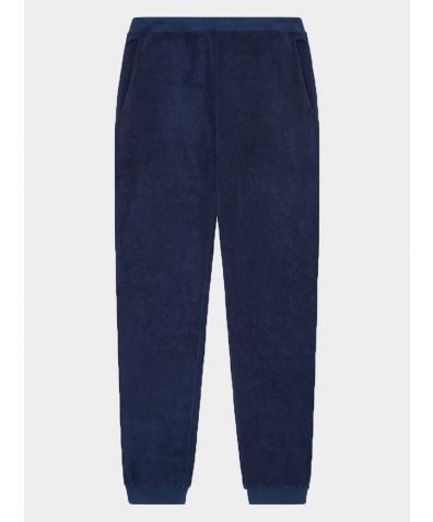 Terry Track Trouser - Navy