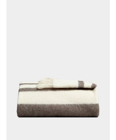Danan Wool Blanket - Stone
