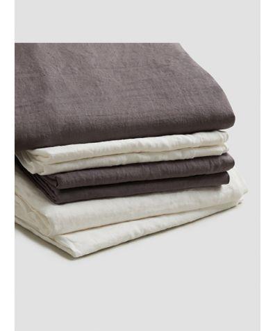 Linen Bedtime Bundle - Charcoal