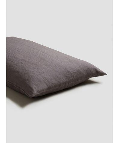 Linen Pillowcases (Pair) - Charcoal