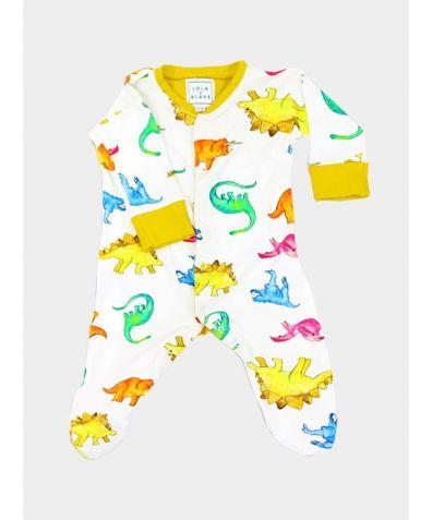 Cotton Babygrow - Dino