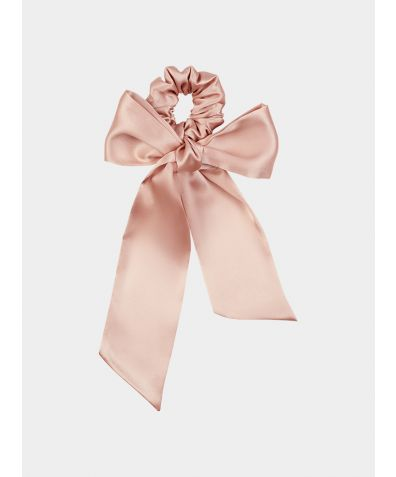 Silk Disney Scarf - Shell Pink