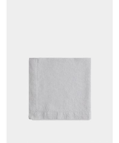 Linen Napkin Mitered Hem Collection - Dove Grey
