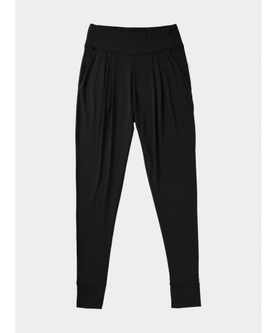 Downtime Lounge Bamboo Trousers - Black