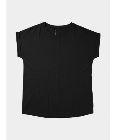 Downtime Lounge Bamboo Top  - Black