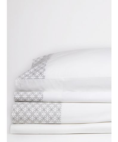 Dreamers 300 Thread Count Organic Cotton Pillowcases - Grey