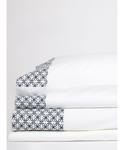 Dreamers 300 Thread Count Organic Cotton Pillowcases - Navy