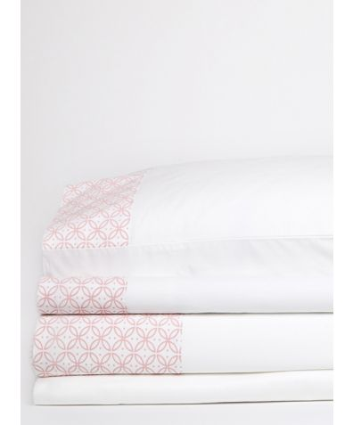 Dreamers Organic 300 Thread Count Cotton Duvet Cover - Pink