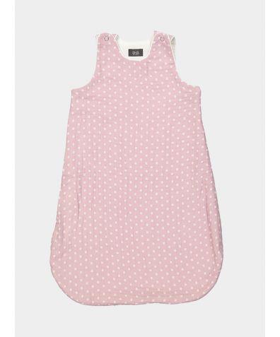 Organic Cotton Children's Dreamy Sleeping Bag - Heather/White