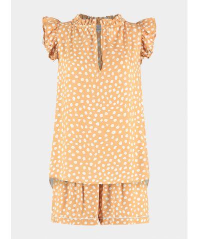 Organic Bamboo Pyjama Short Set - Drive Me Dotty