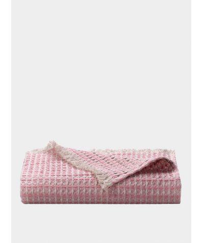 Nida Linen Throw -  Dusty Pink