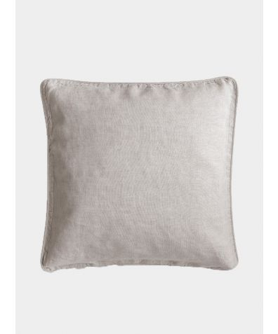 Linen Cushion Cover - Ecru