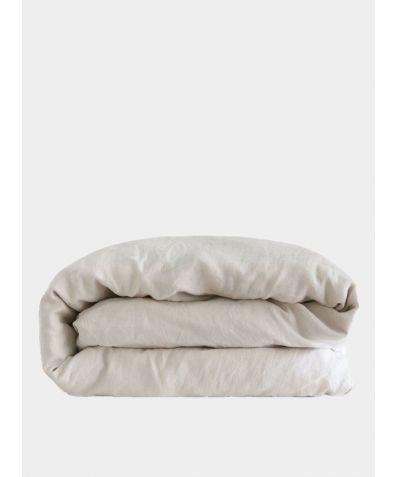 Linen Duvet Cover - Picardie Ecru