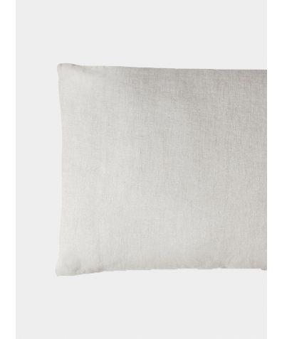 French Linen Oxford Pillowcase - Picardie Ecru
