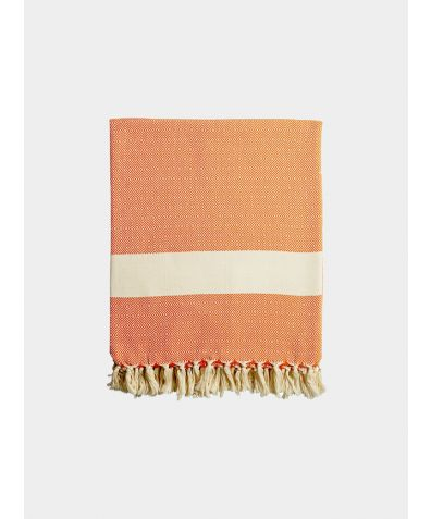 Damla Blankets - Tangerine