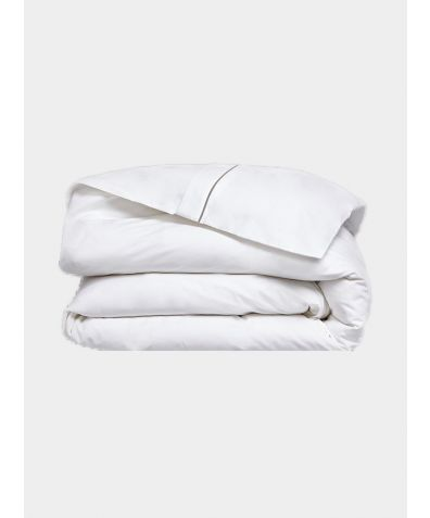 Chika 300 Thread Count Cotton Duvet Cover - Grey