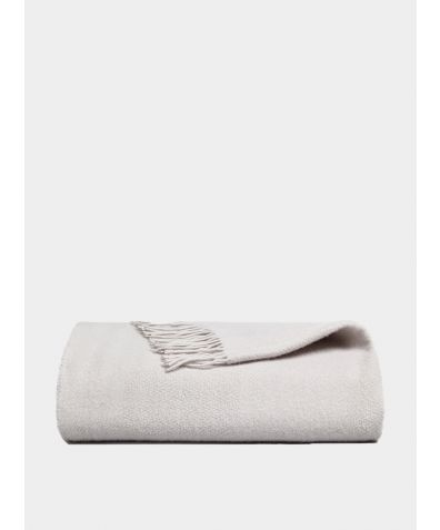 Esho Merino Wool Blanket - Stone
