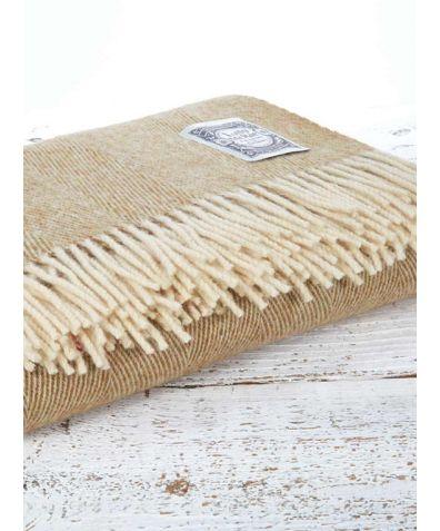 Wool Throw - Dorset Sand