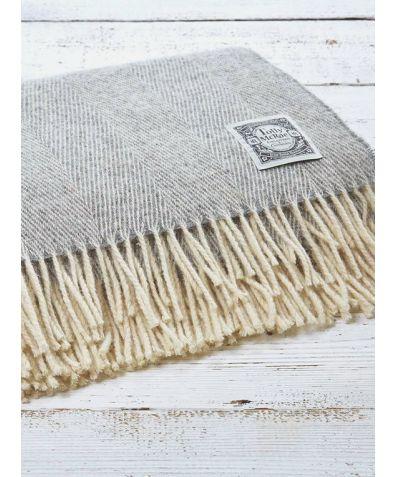 Wool Throw - Lady Grey