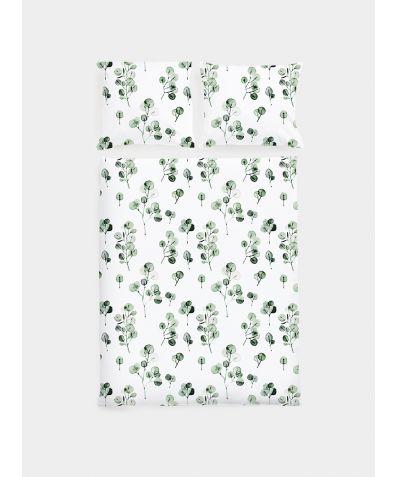 Cotton Sateen Duvet Set - Eucalyptus