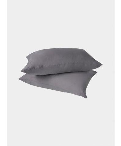 Eucalyptus Silk Pillowcases - Stone
