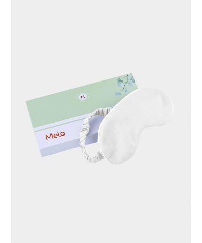 Eucalyptus Silk Sleep Eye Mask - White