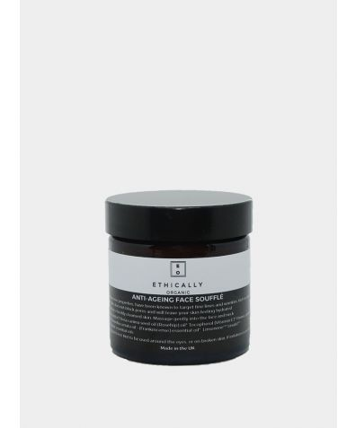 Organic and Vegan Anti Ageing Face Souffle, 60g