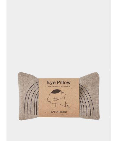 Blue Face Linen Eye Pillow – Yoga and Body