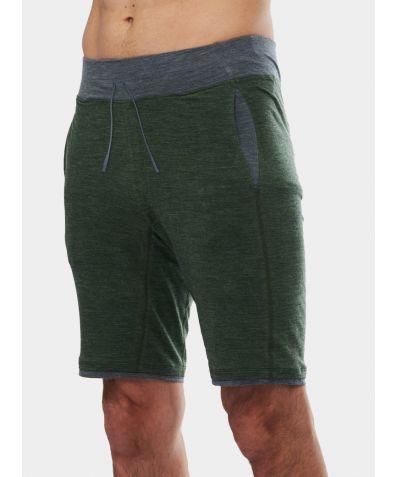 Mens Nattwarm® Sleep Tech Shorts - Pine Green