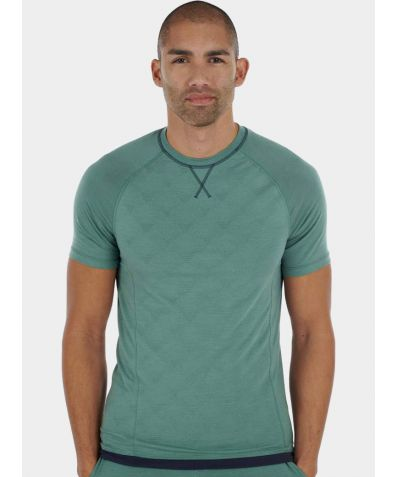 Mens Nattwell® Sleep Tech T-Shirt - Night Fern