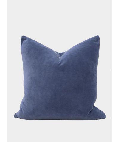 Unari Velvet Cushion - Fjord