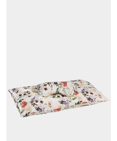 Jana Travel Set: Silk Pillowcase & Eye Mask - Ravello Florals
