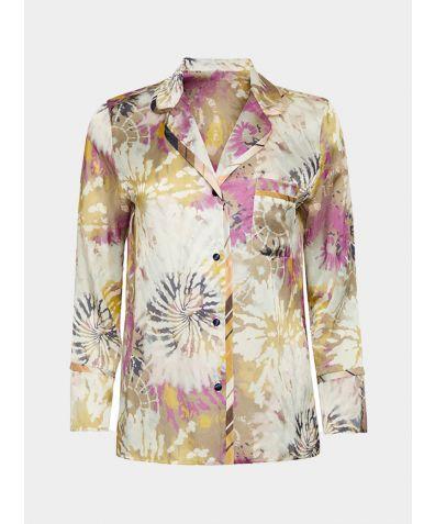 Silk Cotton Pyjama Shirt - Dream