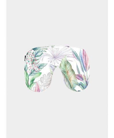 Silk Sleep Mask - Iridescent Garden