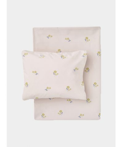 Organic Cotton Bed Linen Set - Flora
