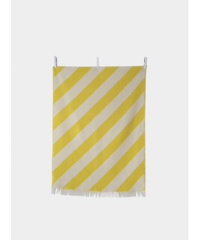 Pure New Zealand Wool Blanket - Mina New Yellow