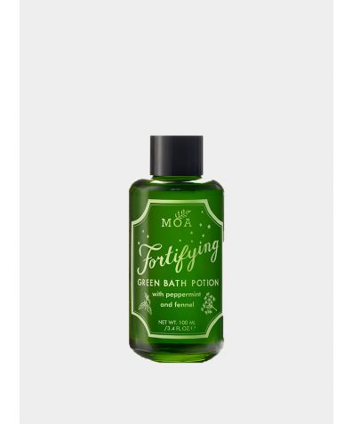 Fortifying Green Bath Potion, 100ml