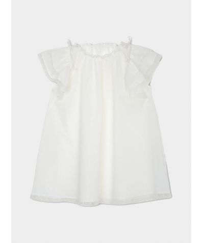 Girls Franny Vintage Nightdress - Ivory