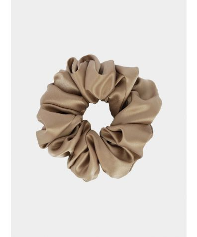 Silk Scrunchie - French Beige