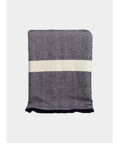 Snuggle Up Cotton Blanket - Navy