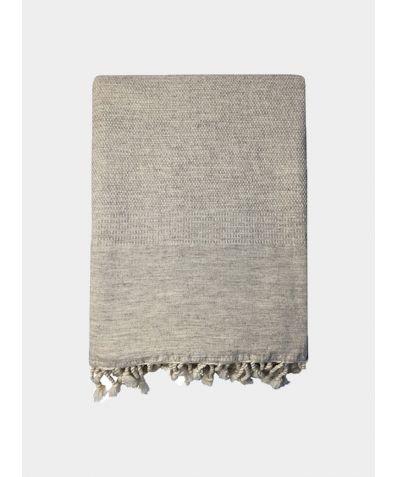 Ekin Blanket & Throw - Taupe