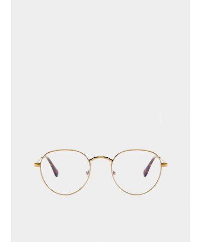 Sleep and Life Enhancing Eyewear Ginza - Gold Matte