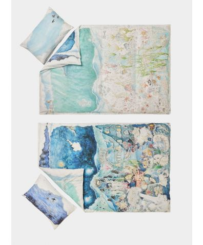 Organic Cotton Duvet Set - Legends of the Sea