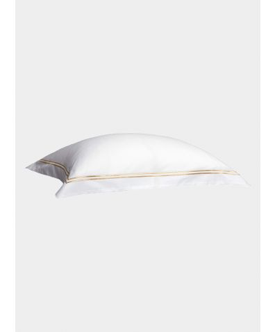 300 Thread Count Cotton Pillowcase - Gold