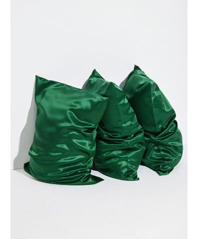 Mulberry Silk Pillowcase - Green